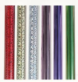 1-Foil~Gift Wrap Roll~10-sq.ft.  Roll~Buy-3-Rolls-4th-1-FREE