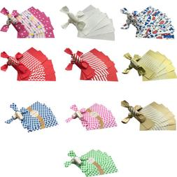 100 Pcs Candy Wrappers Candy Making Wrapping Paper Twisting