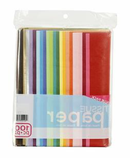 100-Piece Premium Quality Tissue Gift Wrapping Paper Crafts