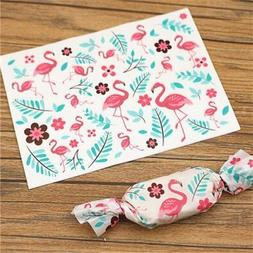 100Pcs Candy Wrapping Paper Wrapper Party Birthday Wedding G