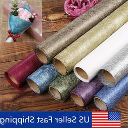 13Pattern Flower Bouquet Wrapping Paper Craft 4.5M Xmas Gift