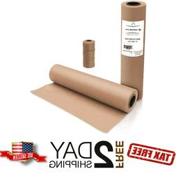 """18"""" x 2100"""" Brown Kraft Paper Roll for Shipping Wrapping Pac"""