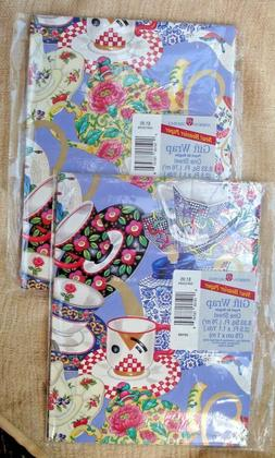 2 Packs American Greetings Gift wrapping paper - Made in USA