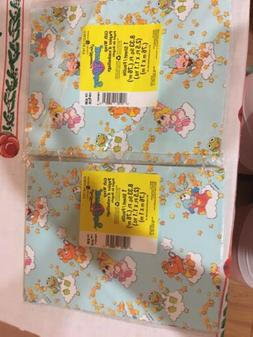 2 Packs American Greetings Muppet Babies Vintage Wrapping Pa