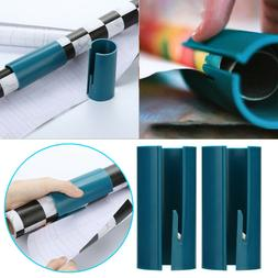 2 PCS Sliding Wrapping Paper Cutter Makes Cuts In Seconds Cu