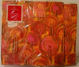 2 Pkgs Vintage Hallmark Gift Wrap Wrapping Paper Gift Tags O