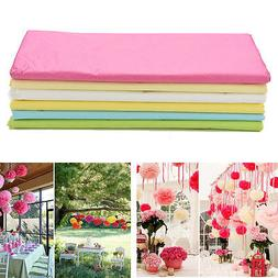20 Sheets Tissue Paper Flower Wrapping Kids DIY Crafts Mater