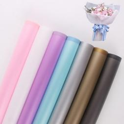 20pcs Flower Wrapping Paper Frosted Florist Art Wedding Bouq