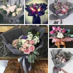 20Pcs Waterproof Bouquet Wrapping Paper Gift Wrapping Flower