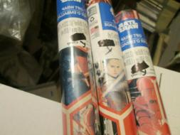 3 Rolls Star Wars Disney Holiday Wrapping Paper 80 Sq Ft Eac