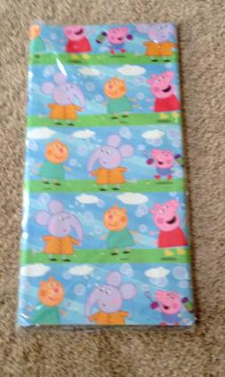 3 X Peppa Pig Wrapping Paper sheets birthday gift 50cm x 70c