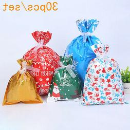 30pcs kit gift bags ribbons kit candy