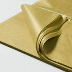 "METALLIC GOLD TISSUE PAPER~48 SHEETS~Lrg 20""x30""~GIFT WRAP~S"