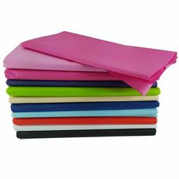 """48PK TISSUE PAPER 10X20"""" Rainbow Color Mix Tissue Paper Gift"""