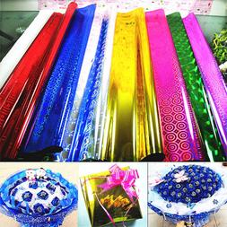 4pcs metallic gift wrapping paper christmas party