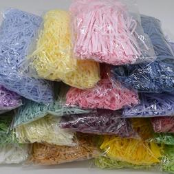 50g Shredded Crinkle Paper DIY Craft Material Decors Gift Bo