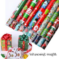 5piece 52x75cm Merry Christmas Decoration <font><b>Wrapping<