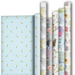 Jillson Roberts 6-Roll Count All-Occasion Gift Wrap Availabl
