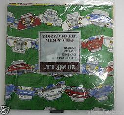 ALL OCCASSION FLAT GIFTWRAP MADE IN USA 12 SHEET 6 DESIGNS 5