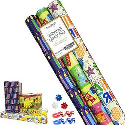 Birthday Gift Wrap - Gift Wrapping Paper - Premium Gift Wrap