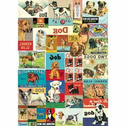 Dog Vintage Art Wrapping Paper Sheet Gift Wrap Art Paper