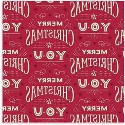 Hallmark Holiday Merry Christmas Heavy Weight Wrapping Paper