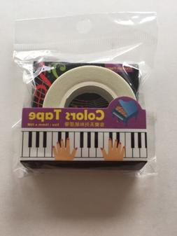 Music Piano Triumph Paper Tape Craft Seal Gift Decorations W