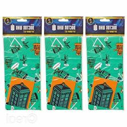 New 5 Doctor Who Gift Wrap Sets Birthday Tags Wrapping Paper