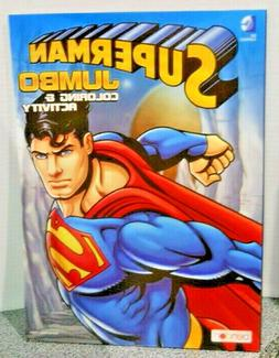 Superman Jumbo Coloring And Activity About 100 Pages Of Fun