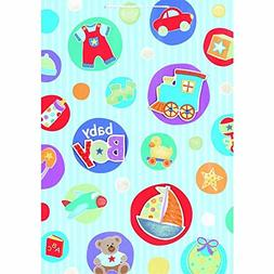 Amscan Adorable Baby Boy Things Giant Specialty Bag Party Su