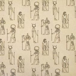 Ancient Egypt Gods Pharaohs Kraft Present Gift Wrap Wrapping