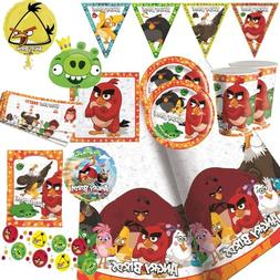 Angry Birds Party Supplies Tableware, Decorations, Balloons,