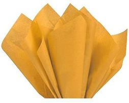 "Antique Gold Tissue Paper 15"" X 20"" - 100 Sheet Pack"