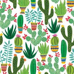 Any-Occassion Gift Wrap Wrapping Paper, Sedona Cactus