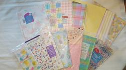 ASSORTED GIFT WRAP/ TISSUE PAPER/ HOLIDAY GIFT BAGS