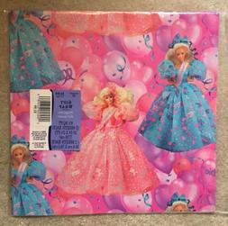 Barbie Hallmark Birthday Wrapping Paper 1994