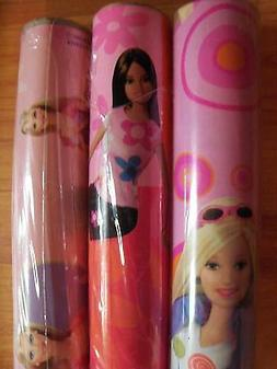 """Barbie Kids Gift Wrap Ambassador Wrapping Paper 15 sq ft 30"""""""