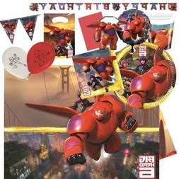 Big Hero 6 Party Tableware , Decorations and Balloons