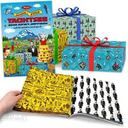 Birthday Wrapping Paper Book Wrap Party Gift Present D??cor