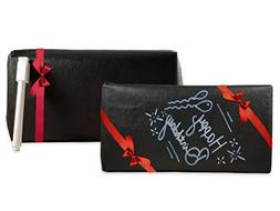 black chalkboard gift wrap wrapping