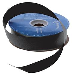 Black Flora-Satin Decorative Ribbon