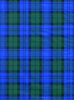 Blue & Green Tartan Plaid Tissue Wrapping Paper-30 Sheets