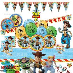 TOY STORY Boys Girls Children Birthday Party Tableware & Dec