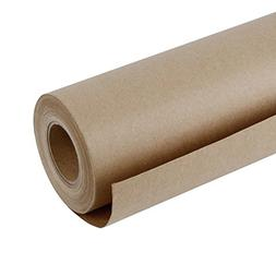RUSPEPA Brown Kraft Paper Roll - 48 Inch x 100 Feet - Recycl