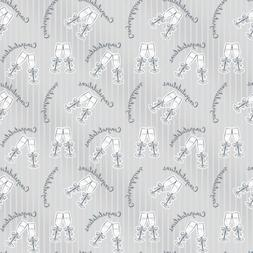 Bubbly Congratulations Wedding Wrapping Paper