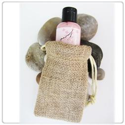 High Quality Burlap Favor Gift Bags With Drawstring 3 x 5 in