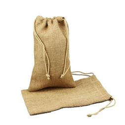 Burlap Jute Favor Bags  - Select From 8 Colors Available in