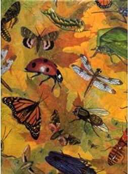 Busy Bugs Insect Tissue Wrapping Paper-20 Large Sheets