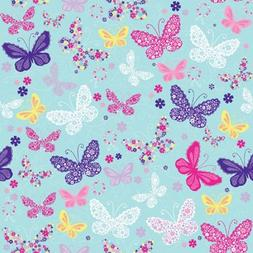 """Butterfly Gift Wrapping Roll 24"""" X 16' - All Occasion Gift W"""