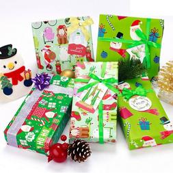 christmas craft paper wrapping paper present tree